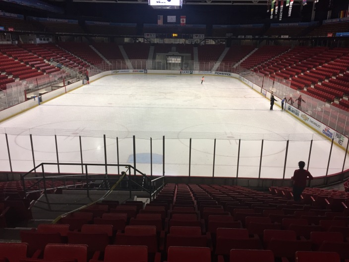 1980 Miracle on Ice rink